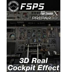 3D Real Cockpit Effect